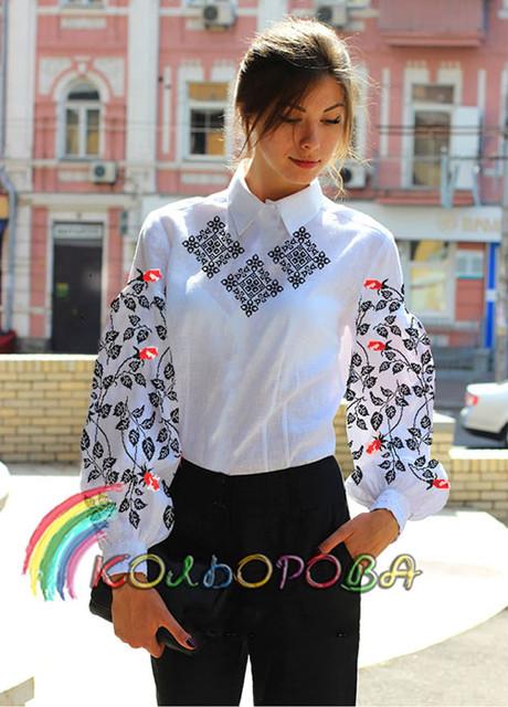 Заготовки сорочек с длинным рукавом тм КОЛЬОРОВА