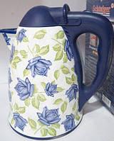 Электро чайник Schtaiger SHG-98000 (розы)
