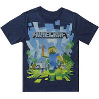 """Детская футболка для мальчика """"Майнкрафт"""""""