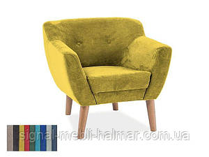 Кресло Bergen 1 signal (желтый)