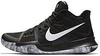 Баскетбольные кроссовки Nike Kyrie 3 BHM Black (Найк) черные