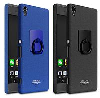 Пластиковый чехол Imak с кольцом-подставкой для Sony Xperia XA  (2 цвета)