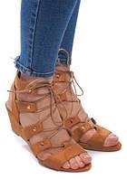 Стильные женские босоножки на шнуровке  размер 39,40
