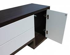Тумба TV-line 01 (венге / белый супер мат), фото 3