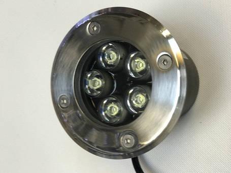 Светодиодный тротуарный линзованный светильник LM987 5W 6500K IP65 220V Код.58900, фото 2