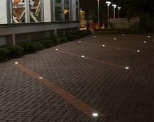 Светодиодный тротуарный линзованный светильник LM988 7W 6500K IP65 220V Код.58902, фото 3