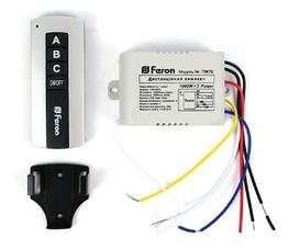 Дистанционный выключатель Feron ТМ75 на 3 канала