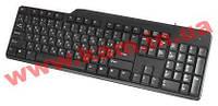 Клавиатура Gemix стандартная тонкая USB черная бесшумная Клавиатура Gemix KB-150, (KB-150 black USB)