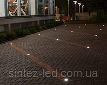 Светодиодный тротуарный линзованный светильник LM13 12W 6500K IP65 220V Код.58906, фото 3