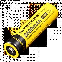 Аккумулятор Nitecore NL186 2600 mAh 18650 Li-ion (защищенный)