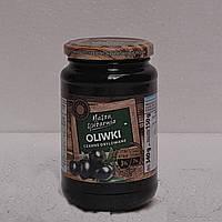 Оливки Nasza Spizarnia черные без косточки 340г