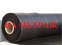 Агроткань НА МЕТРАЖ против сорняков PP, черная UV, 105 гр/м² 3,2м Bradas