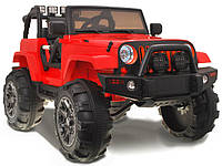 Детский электромобиль JEEP Hellcat: EVA , MP3, пульт 2,4 G - Красный (код: 6746715399)-купить оптом , фото 1