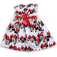Сукня для дівчинки святкова (Зріст 116, Білий з червоним)