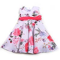 Сукня для дівчинки святкова (Зріст 140, Синій з білим)