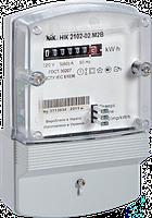 Однофазный счетчик НІК 2102-02 1,0 220В (5-60)А М2В (корпус выпуклый)