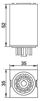 габаритные размеры MK-3P