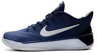 Баскетбольные мужские кроссовки 2017 Nike Kobe AD Team Obsidian (Найк) синие