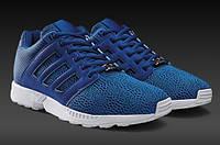 Кроссовки повседневные мужские Adidas Originals ZX Flux 2.0 Blue Mens Trainers M21332 адидас