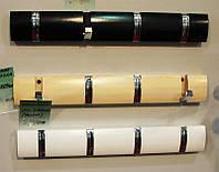 Настенная раскладная вешалка СН-4704-BK, черная