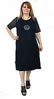 Оригинальное женское платье шифон