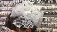 Шляпка на ободке Бантик