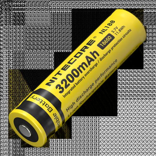 Аккумулятор Nitecore NL188 3200mAh 18650 Li-ion (защищенный)