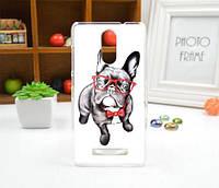 Силиконовый бампер чехол с рисунком для Xiaomi Redmi Note 3