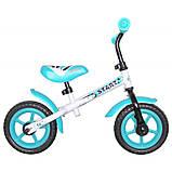 Велобіг від - беговел Alexis BabyMix WB-168 10 дюймів, фото 3