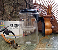 Чайник - заварник стекло 500мл арт 9200007