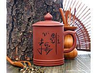 Кружка - заварник глиняная Исин арт 9200051-4
