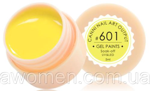 Гель краска Canni № 601