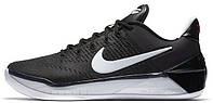 Баскетбольные мужские кроссовки 2017 Nike Kobe Bryant A.D. Black White (Найк) черные/белые