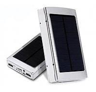 Power Bank Solar 20000mAh LED фонарь солнечная панель, фото 1
