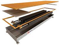 Внутрипольные водяные регистры с двумя теплообменником POLVAX КЕМ 1250х300х78*