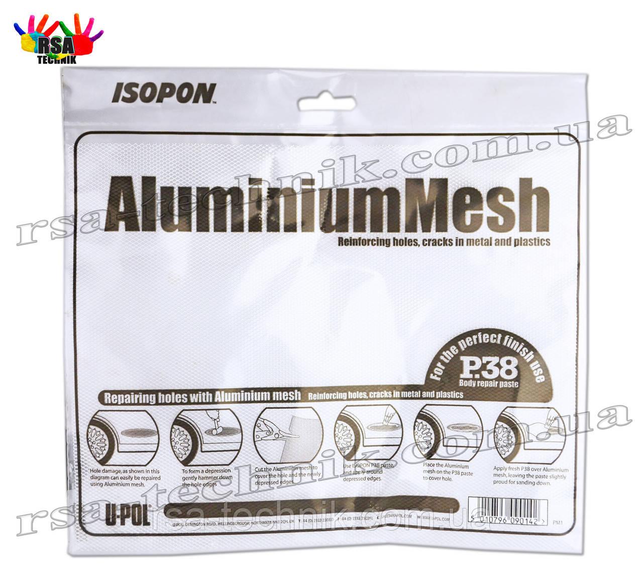 Алюмінієва сітка P38 U-POL, upol, Aluminium mesh 25см х 20см