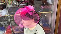 Шляпка вуалетка на уточках 8 видов