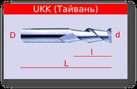 Фрезы концевые по алюминию и мягким металлам KWE