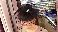 Шляпка на уточках с вуалью 8 видов