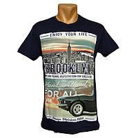 Стильная мужская футболка Daniel and Jones - №2292, Цвет синий