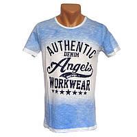 Супер футболка для мужчин Angels - №2280, Цвет разноцветный