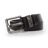 Мужской брендовый ремень - №2298, Цвет черный