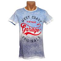 Прикольная мужская футболка Garage - №2282, Цвет разноцветный