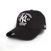 Бейсболка с надписью New York Yankees- №2303, Цвет черный