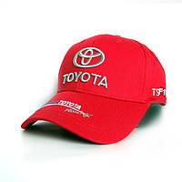 Мужская бейсболка Toyota- №2307, Цвет красный