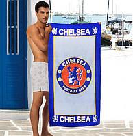 Мужское пляжное полотенце Chelsea - №2327, Цвет разноцветный