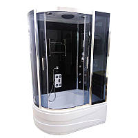 Гидромассажный душевой бокс Atlantis AKL-1315 GR R 135х85х220