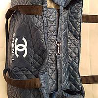 Сумка женская стеганая Chanel (Шанель) 43x30x15