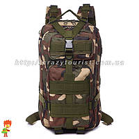 Тактический рюкзак 25 L Woodland, фото 1