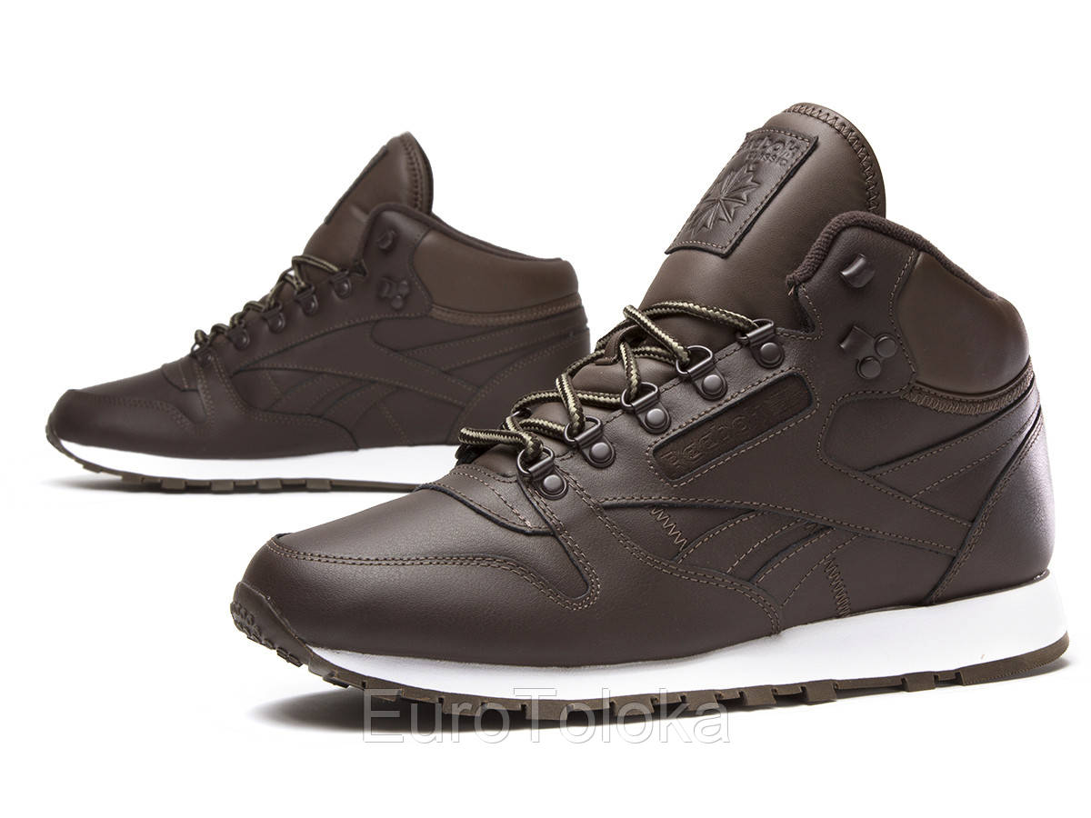 32039a9d Мужские зимние ботинки REEBOK Classic Leather Mid BD2538 - EuroToloka в  Волынской области